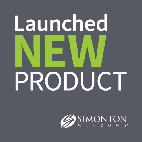 Simonton Windows: Launched New Product