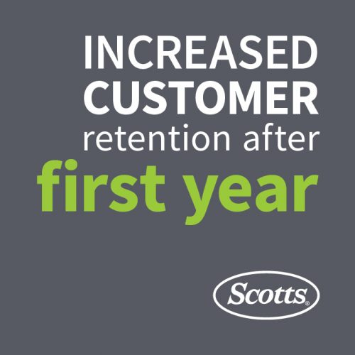 Scotts Lawn Service: Increased Customer Retention After First Year