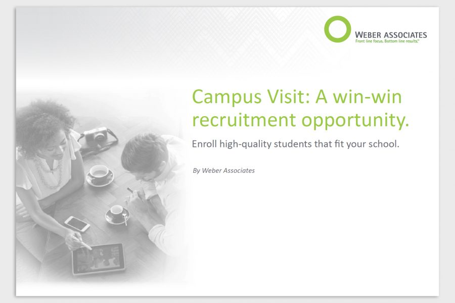 Campus Visit: A win-win recruitment oppurtunity