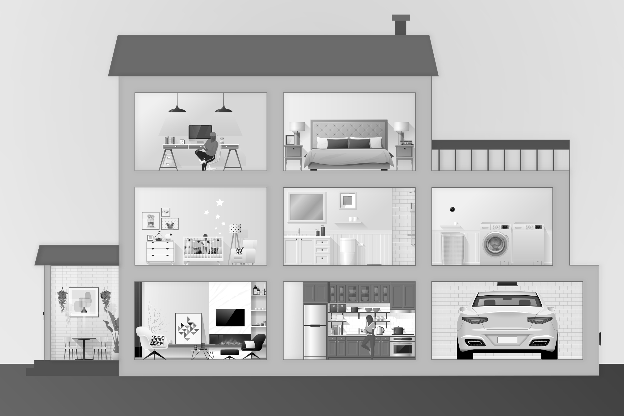The Internet of Things and Home Automation